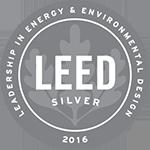 Logo: 2016 LEED Silver Status